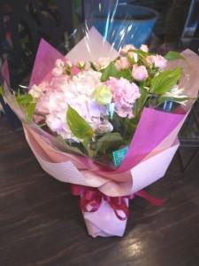 桜色の花束